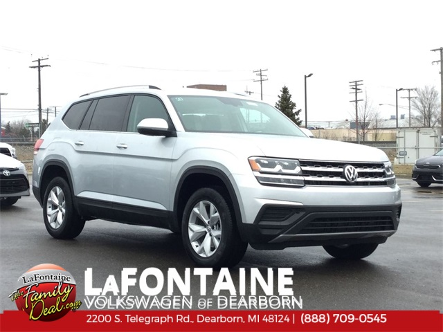 2019 Volkswagen Atlas V6 S with 4MOTION® AWD