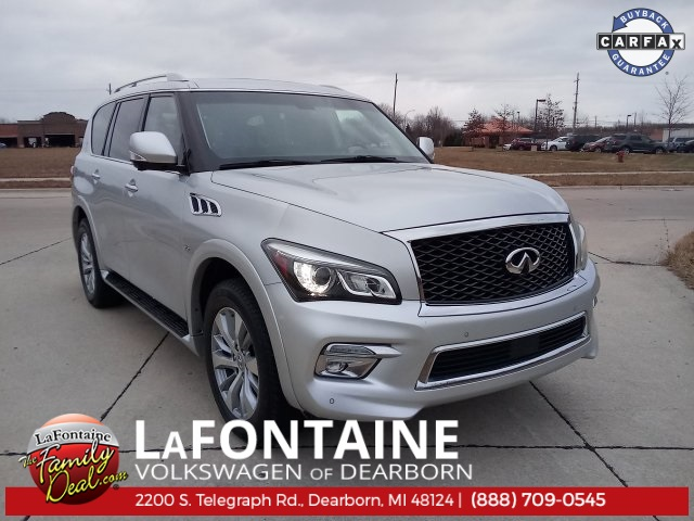 Infiniti Qx80 For Sale >> Used 2015 Infiniti Qx80 For Sale Dearborn Mi Detroit 9vs002p