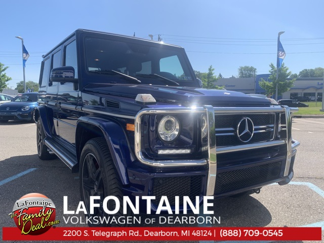 Pre-Owned 2016 Mercedes-Benz G-Class AMG® 63